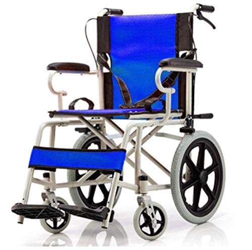 Portátil L De Ruedas Plegable Discapacitado Silla Viaje Para Carretilla Sillas Scooter Y Ancianos Ligero Edición 35qLARj4